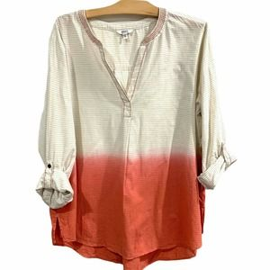 Sonoma | Pink Ombre Tunic Top NWT- Size 1X